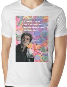I Didn't Feel Like [Isaac] Mens V-Neck T-Shirt