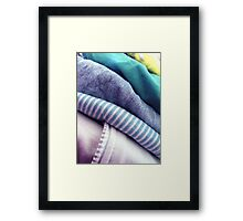 The Wash of the Well Worn Framed Print