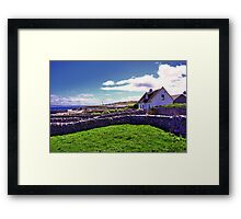 A day in Inis Oirr! Framed Print
