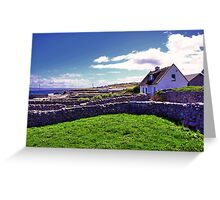 A day in Inis Oirr! Greeting Card