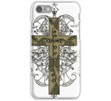 Cross Design T-Shirt iPhone Case/Skin