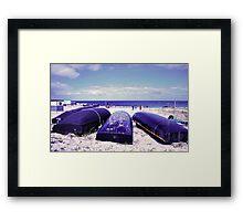 Summer by the beach Framed Print