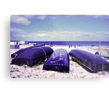 Summer by the beach Metal Print