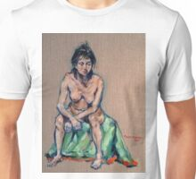 Stacey. Oil on linen on board 2015 Unisex T-Shirt