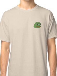 SAD FROG MEME - PEPE THE FROG Classic T-Shirt