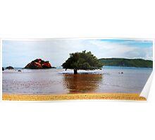 Kuta Beach, Lombok, Indonesia Poster