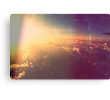 when I used to fly the friendly skies Canvas Print
