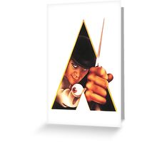 Clockwork Orange Stanley Kubrick Greeting Card