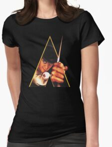 Clockwork Orange Stanley Kubrick Womens Fitted T-Shirt
