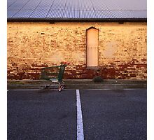 feral trolley Photographic Print