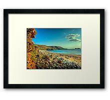 Clonque Bay - Alderny Framed Print