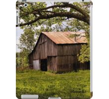 Another Spring ~ the Old Barn Still Stands iPad Case/Skin