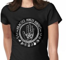 practice makes perfect Womens Fitted T-Shirt