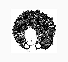 Pen & Ink  Drawing | Women's Afro  Unisex T-Shirt