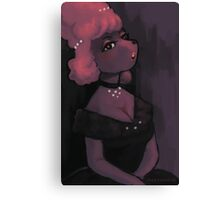 Poodle Girl Canvas Print