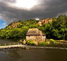 The Water Mill by Jacinthe Brault