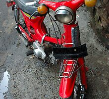 old motorcycle by bayu harsa
