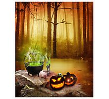 drink the magic potion  Photographic Print