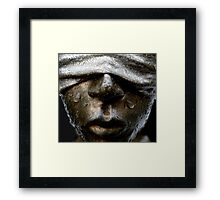 There is None So Blind Framed Print