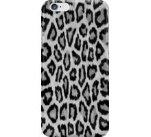 Hipster abstract black white animal print  iPhone Case/Skin