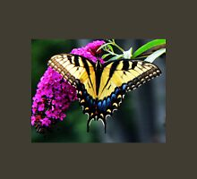 #140 Tiger Swallowtail On Butterfly Bush Unisex T-Shirt