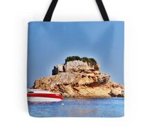 With the sun on her back.... Tote Bag