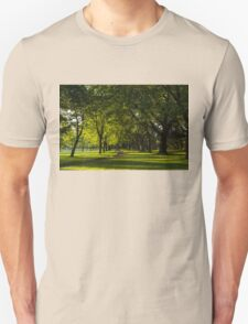 Sunny August Afternoon in the Park T-Shirt