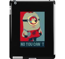 Minion Obama iPad Case/Skin