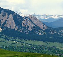 Looking over Boulder by BarbL