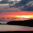 Sunset over Loch Spiggie  by Shaun Whiteman