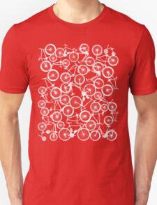 Pile of White Bicycles T-Shirt