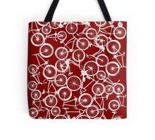 Pile of White Bicycles Tote Bag