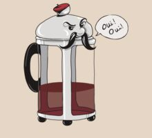 French Cafepress - Coffee Lovers Oui Oui by Christina Smith