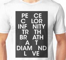 peace minus one 2 Unisex T-Shirt