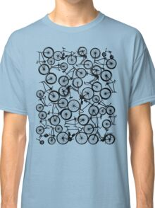 Pile of Black Bicycles Classic T-Shirt