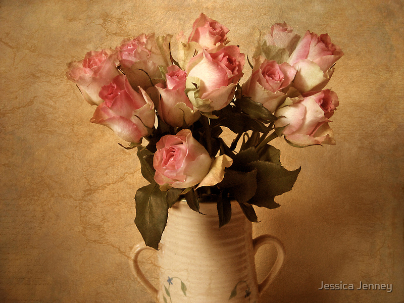 Rustic Bouquet by Jessica Jenney