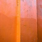 Orange Wall  by Ravensara