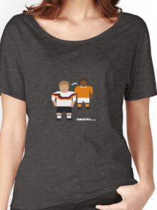 Foot-T 'Naughty' Women's Relaxed Fit T-Shirt