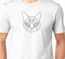 Mittens (Black on White) Unisex T-Shirt