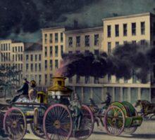 Steam fire engine. Age of Steam #012 Sticker