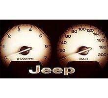 Jeep 01 Photographic Print