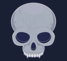Skull in blue by shpshift