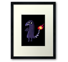 Charmander Tattoo Design Framed Print