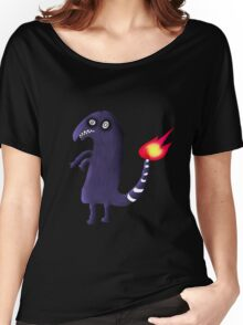 Charmander Tattoo Design Women's Relaxed Fit T-Shirt