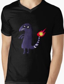 Charmander Tattoo Design Mens V-Neck T-Shirt
