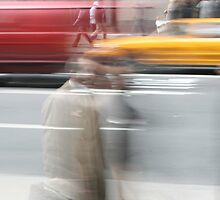 Busy streets of NYC by Jeffrey Auger
