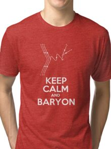 Keep Calm and Baryon Tri-blend T-Shirt