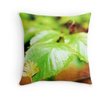 Resting place.... Throw Pillow