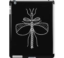Goliath Stick Insect (White on Black) iPad Case/Skin