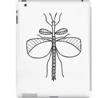 Goliath Stick Insect (Black on White) iPad Case/Skin